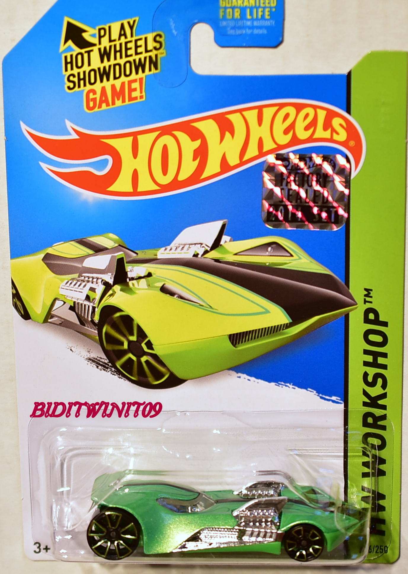 HOT WHEELS 2014 HW WORKSHOP THEN AND NOW TWIN MILL III GREEN FACTORY SEALED