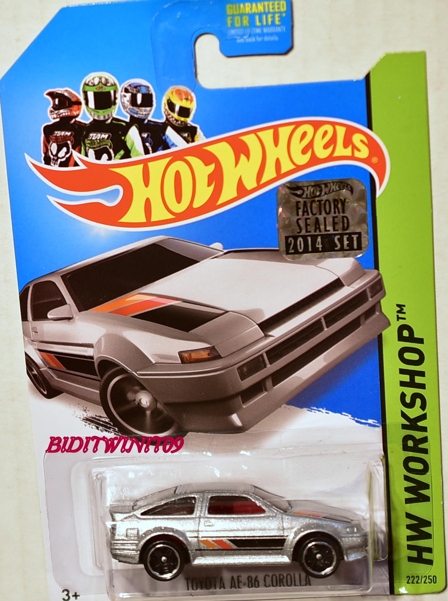 HOT WHEELS 2014 HW WORKSHOP TOYOTA AE-86 COROLLA FACTORY SEALED