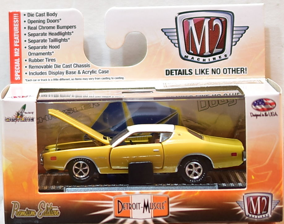 M2 MACHINES DETROIT-MUSCLE 1971 DODGE CHARGER SE 383 R32