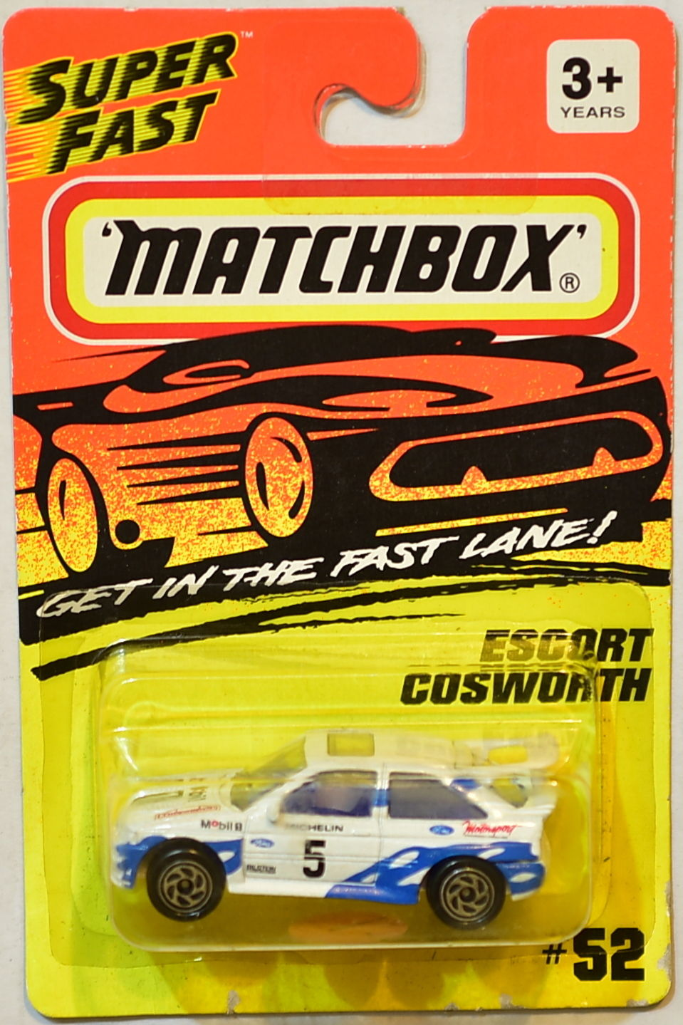 MATCHBOX SUPER FAST ESCORT COSWORTH #52