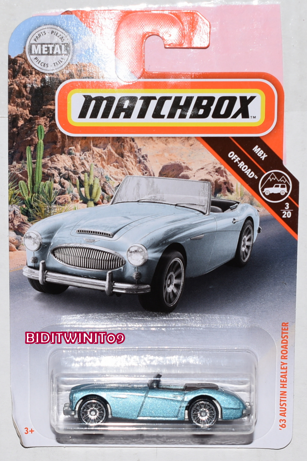 Hot Wheels STARS Austin-Healey MINT CAR FROM CASE