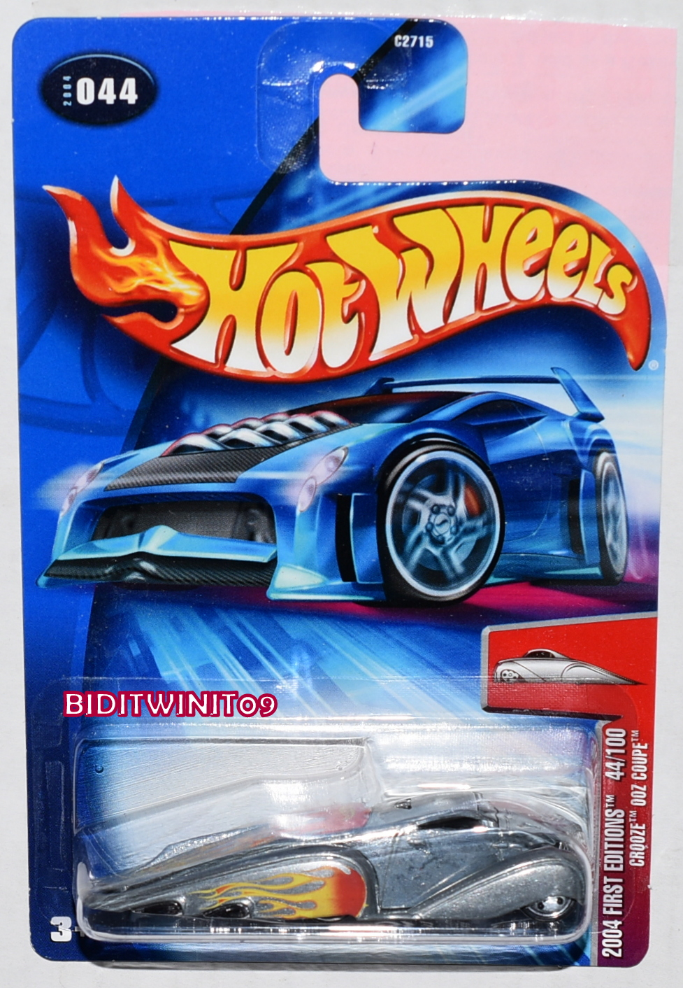 HOT WHEELS 2004 FIRST EDITIONS CROOZE OOZ COUPE E+