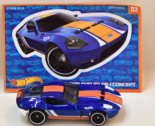 HOT WHEELS 2016 MYSTERY FORD SHELBY GR-1 CONCEPT #02