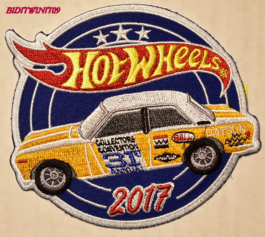 HOT WHEELS 2017 COLLECTORS CONVENTION PATCH
