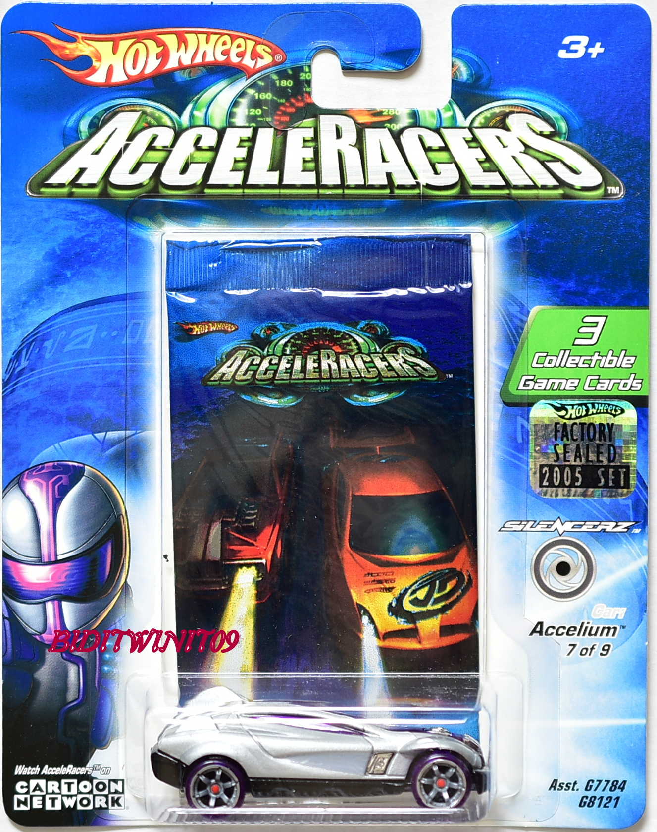 HOT WHEELS ACCELERACERS ACCELIUM 3 FACTORY SEALED