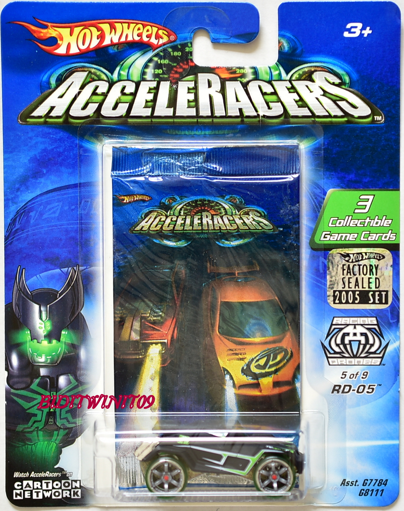 HOT WHEELS ACCELERACERS RD-05 5/9 FACTORY SEALED