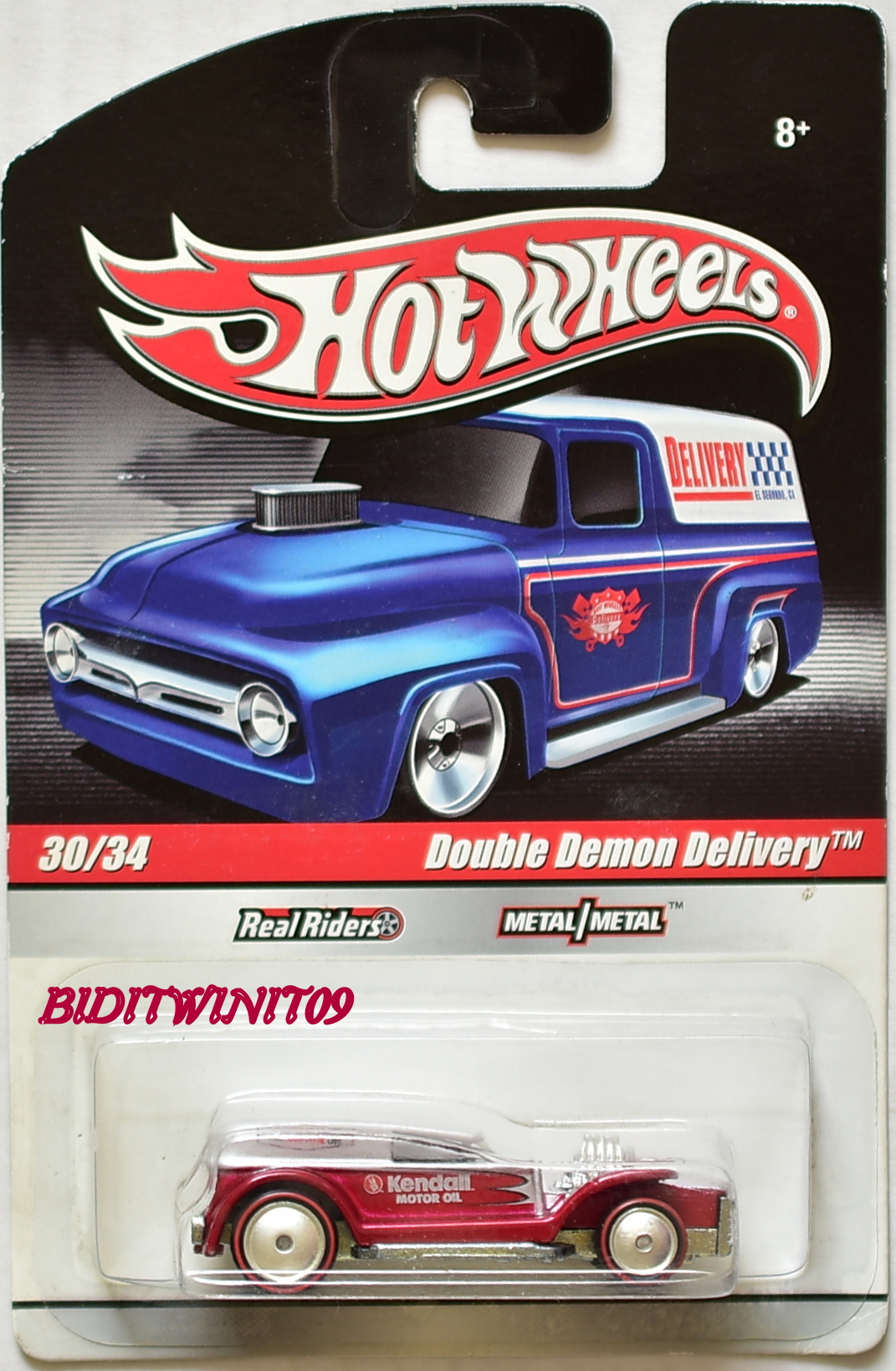 HOT WHEELS DELIVERY 30/34 DOUBLE DEMON DELIVERY