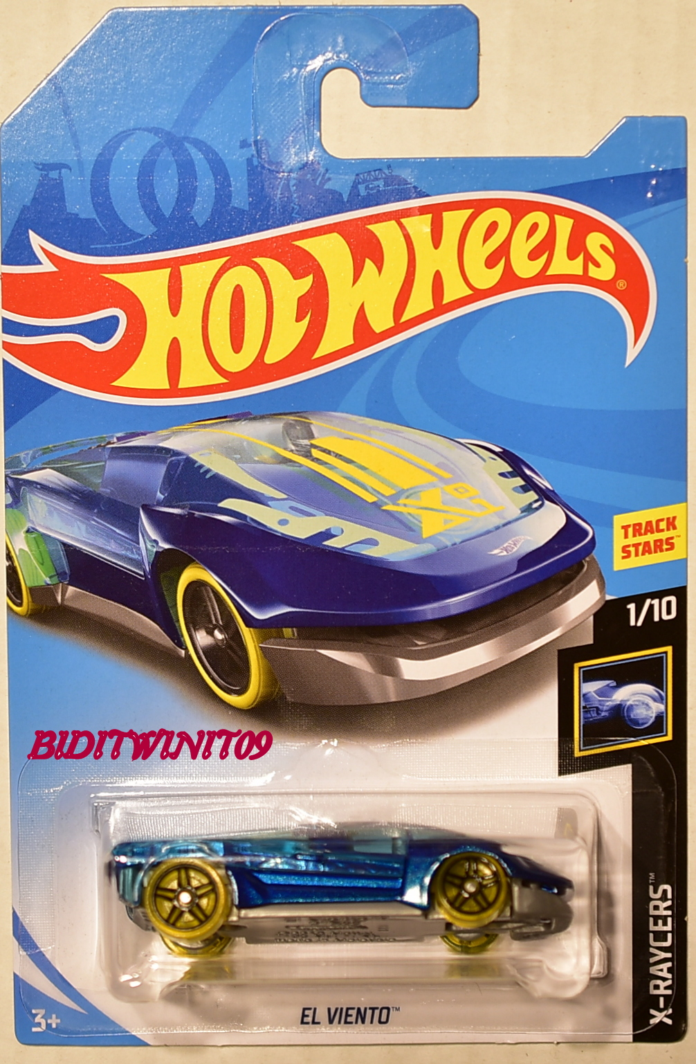 HOT WHEELS 2018 X-RAYCERS EL VIENTO