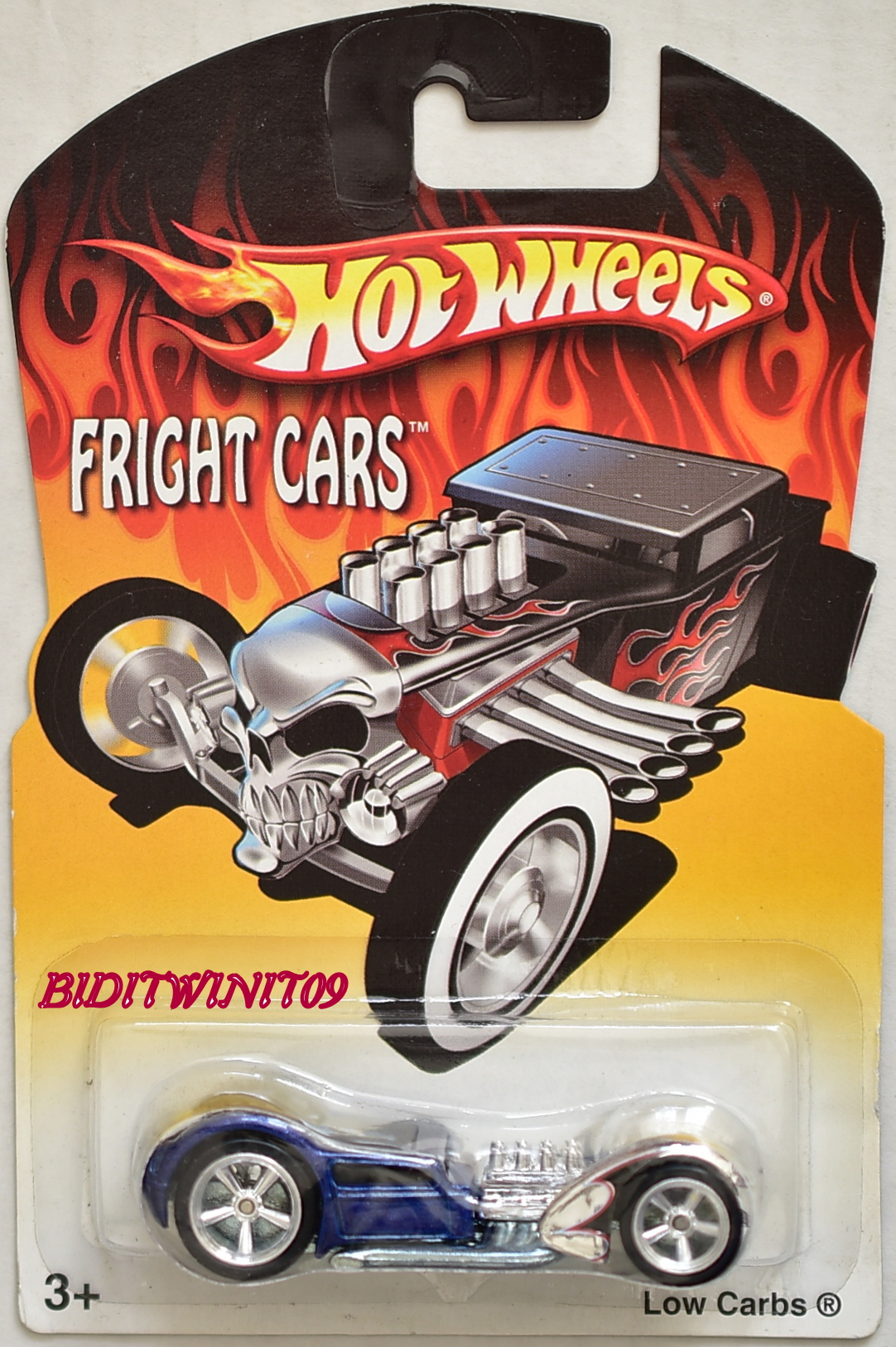 HOT WHEELS FRIGHT CARS 2007 LOW CARBS