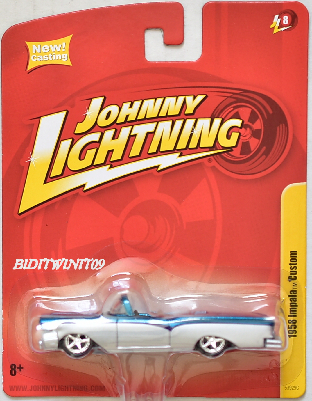 JOHNNY LIGHTNING 1958 IMPALA CUSTOM JL8