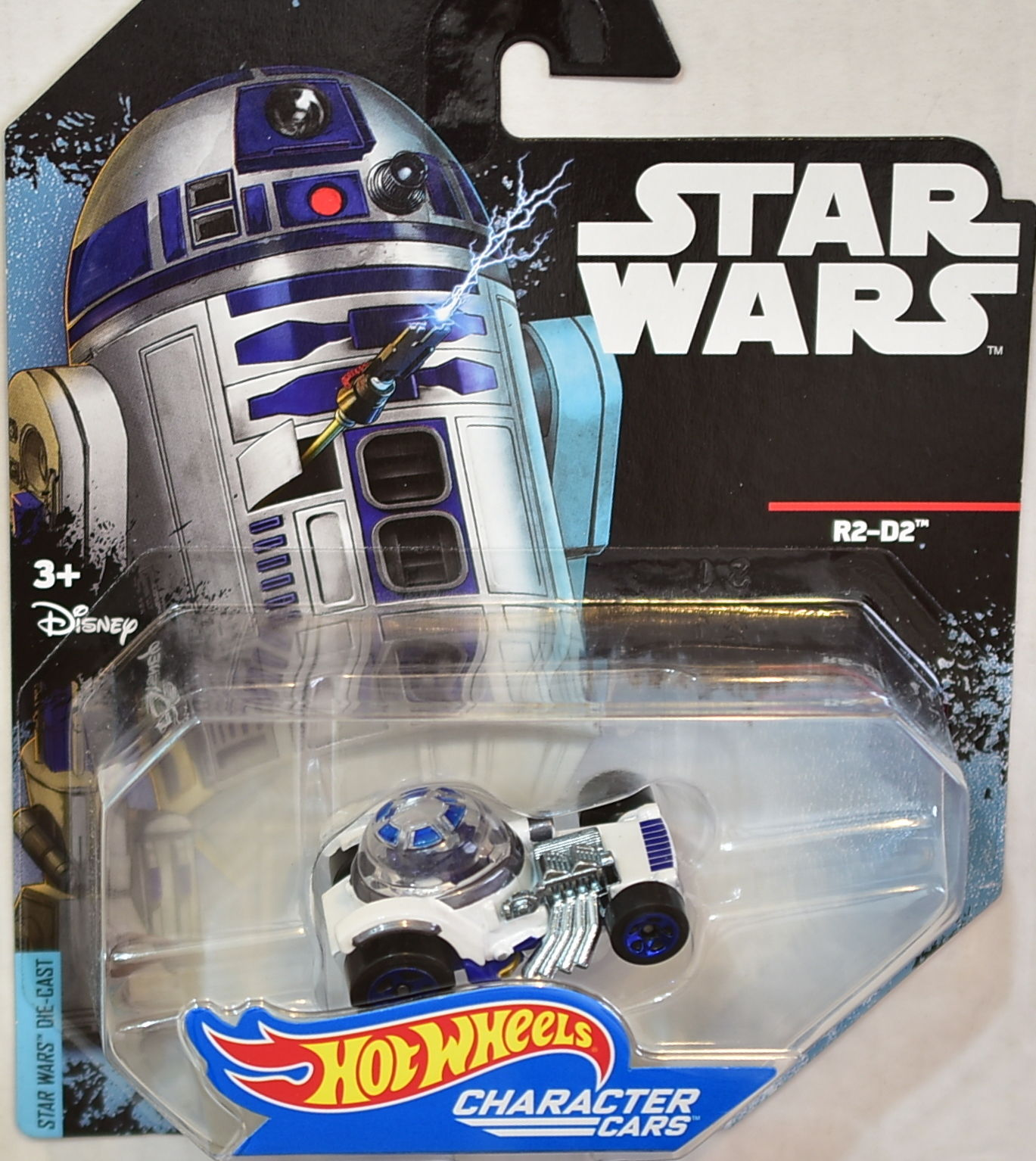STAR WARS 2014 HOT WHEELS R2-D2 CHARACTER CARS