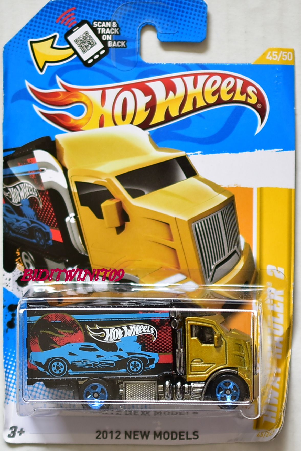 HOT WHEELS 2012 NEW MODELS HIWAY HAULER 2 #45/50 [0005497 ...