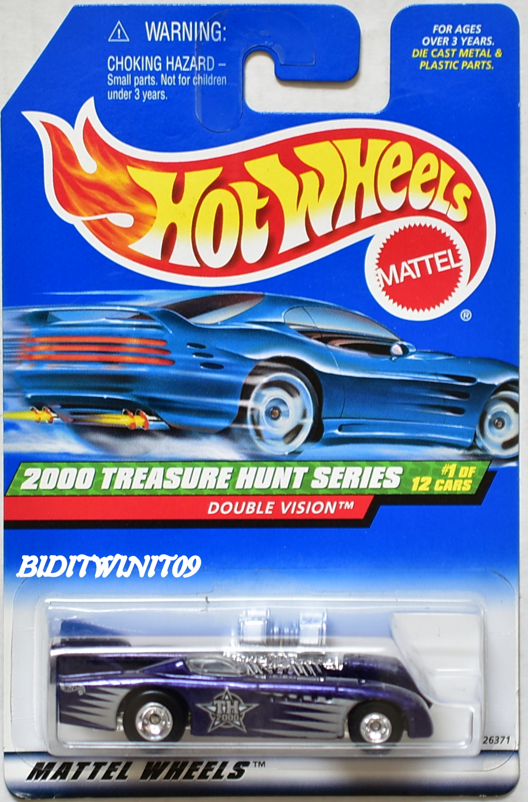 HOT WHEELS 2000 TREASURE HUNT DOUBLE VISION #1/12