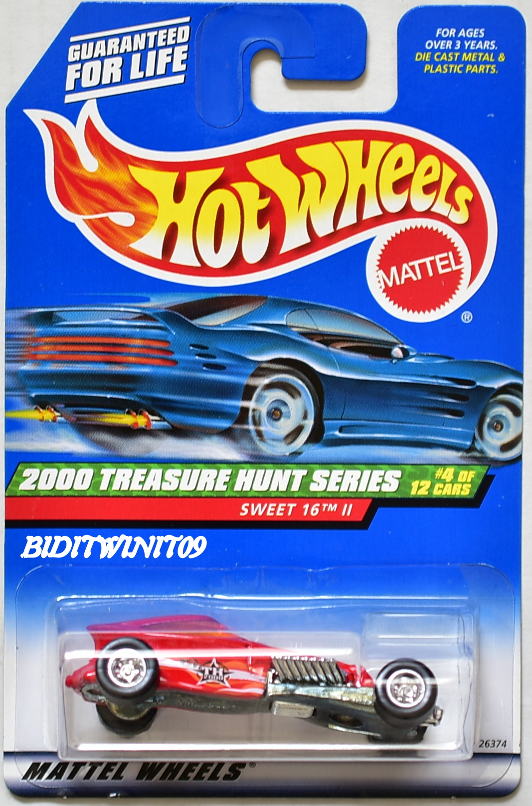 HOT WHEELS 2000 TREASURE HUNT SWEET 16 II #4/12