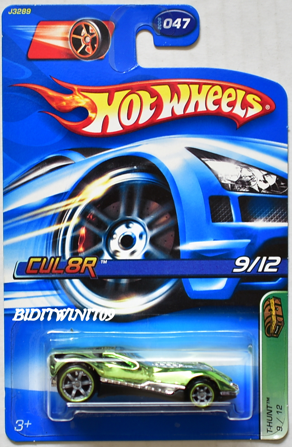 HOT WHEELS 2006 TREASURE HUNT #047 CUL8R GREEN E+