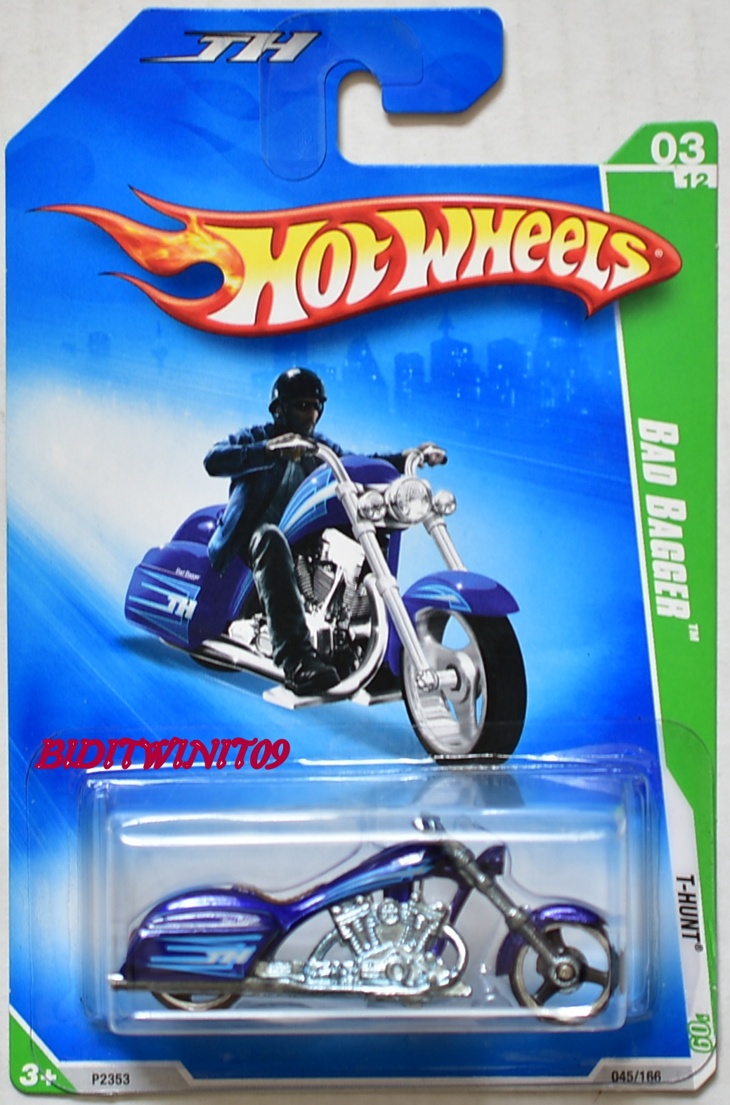 HOT WHEELS 2009 TREASURE HUNT BAD BAGGER