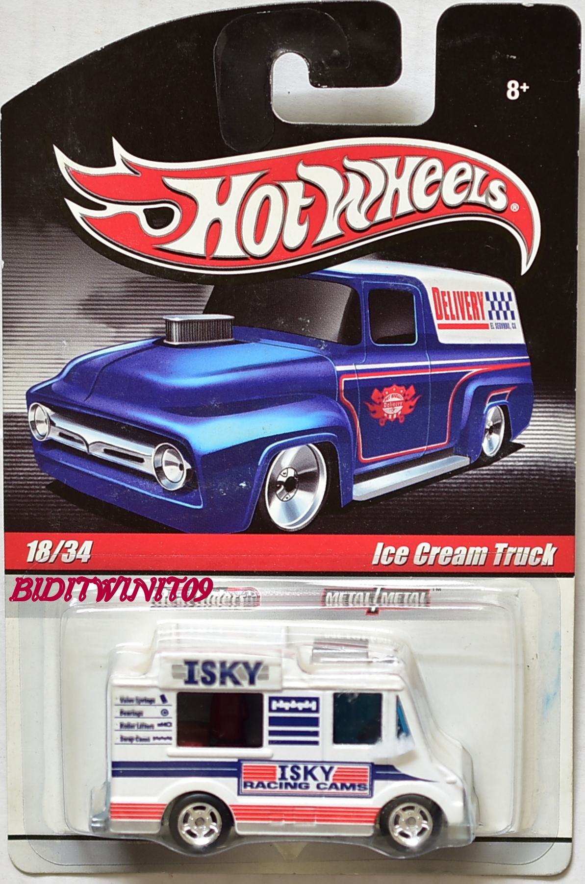 HOT WHEELS DELIVERY ICE CREAM TRUCK #18/34