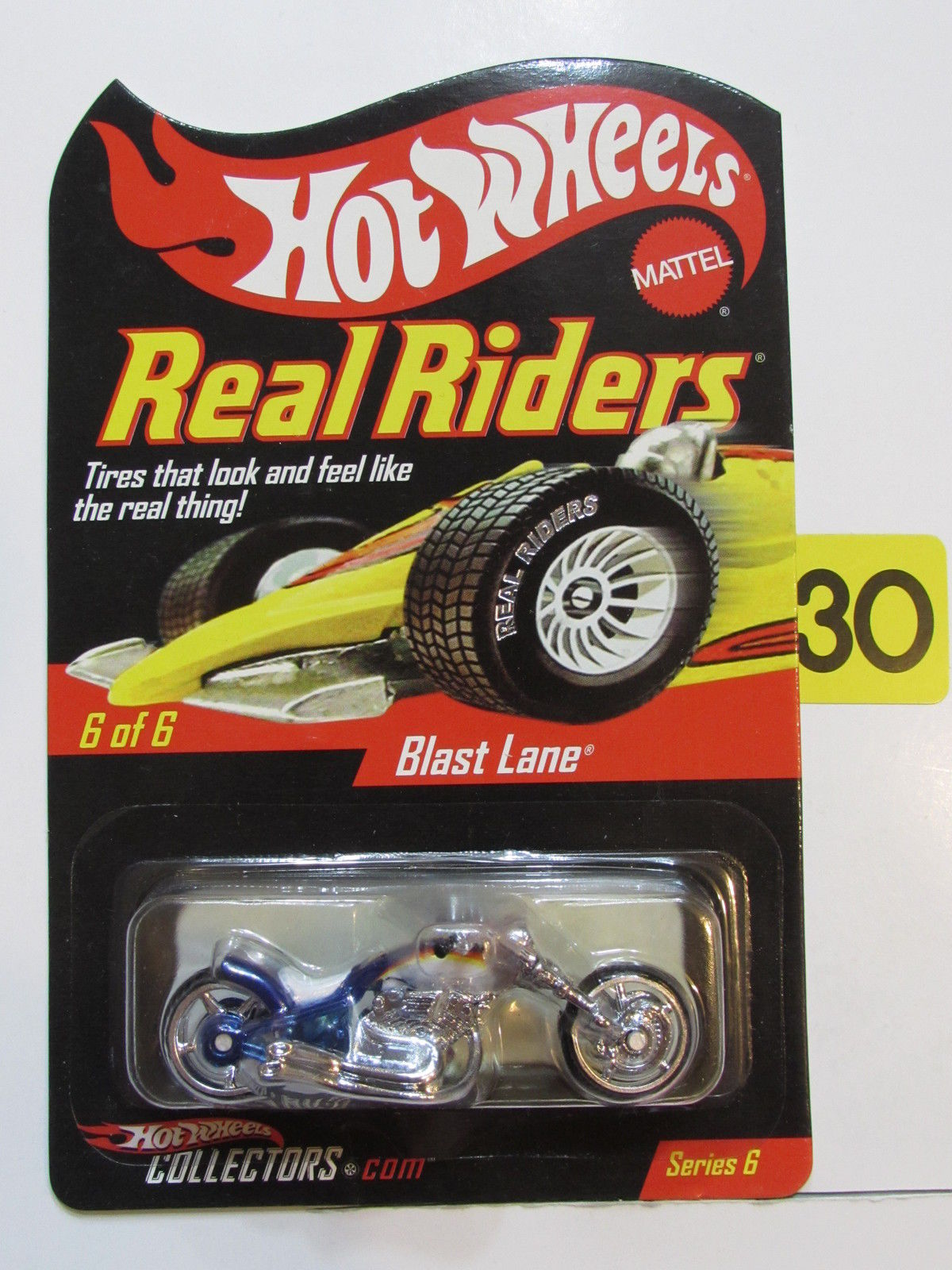 HOT WHEELS 2007 REAL RIDERS SERIES 6 #06/06 BLAST LANE