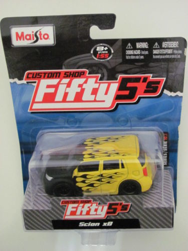 MAISTO CUSTOM SHOP FIFTY5'S SCION XB YELLOW SERIES 10.1