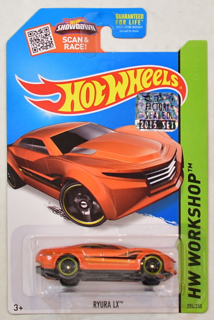HOT WHEELS 2015 HW WORKSHOP RYURA LX FACTORY SEALED