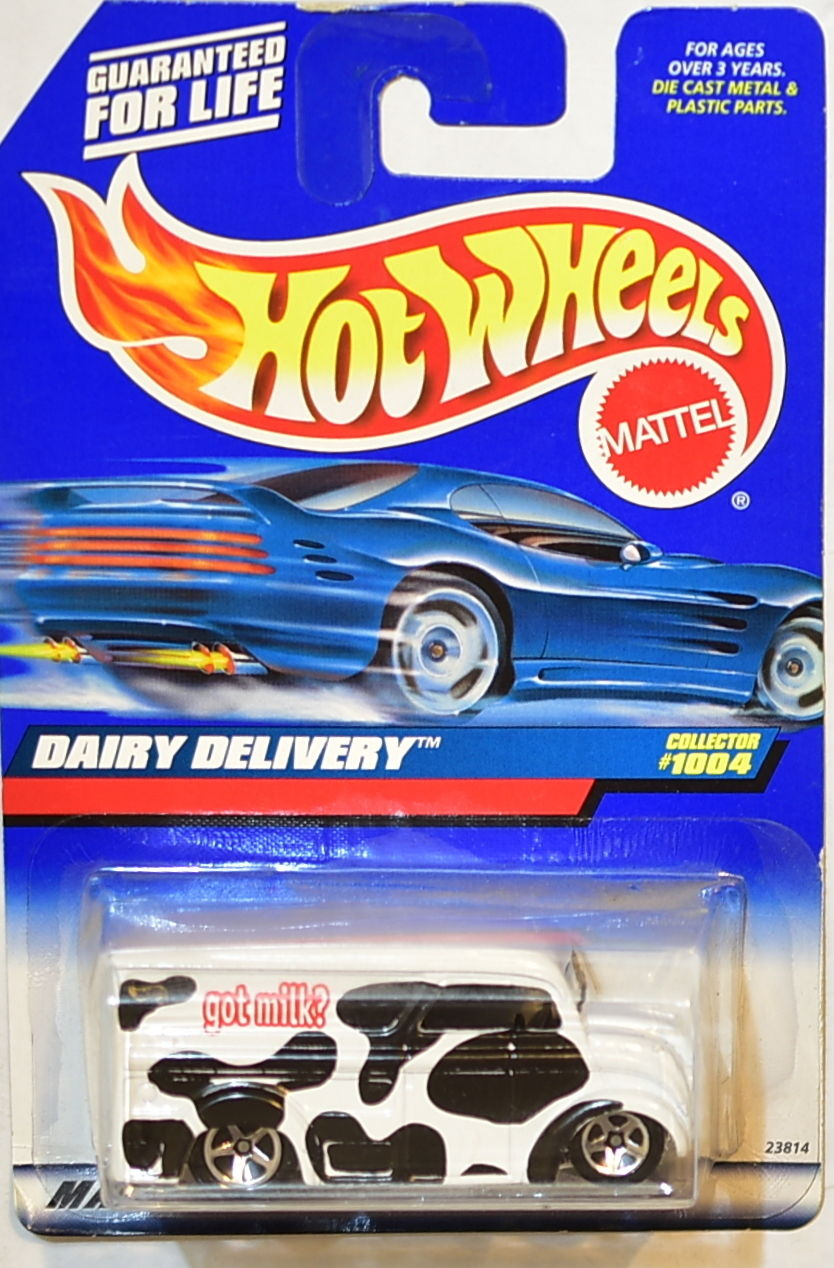 HOT WHEELS 1999 DAIRY DELIVERY #1004 GOT MILK
