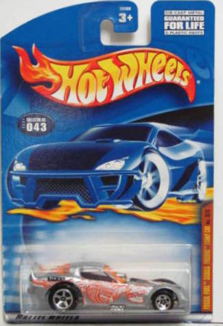 HOT WHEELS 2001 FOSSIL FUEL SERIES FIREBIRD #043 FUNNY CAR
