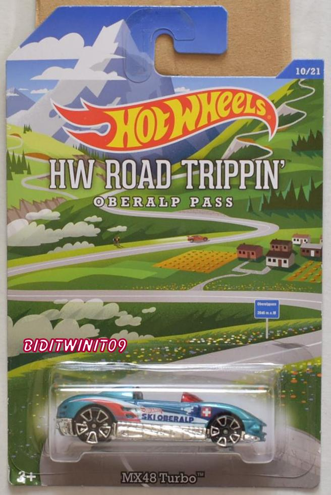 HOT WHEELS ROAD TRIPPIN OBERALP PASS MX48 TURBO