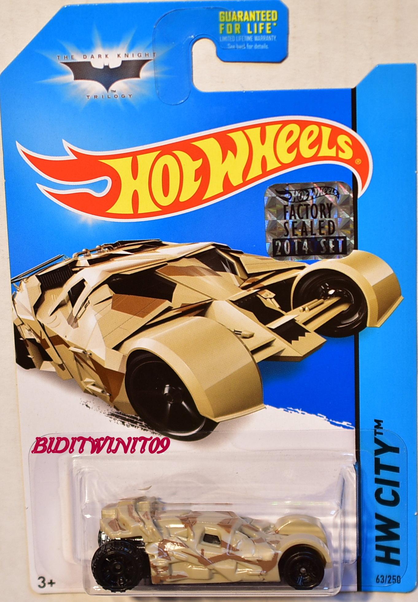 HOT WHEELS 2014 HW CITY THE TUMBLER - CAMOUFLAGE VERSION FACTORY SEALED