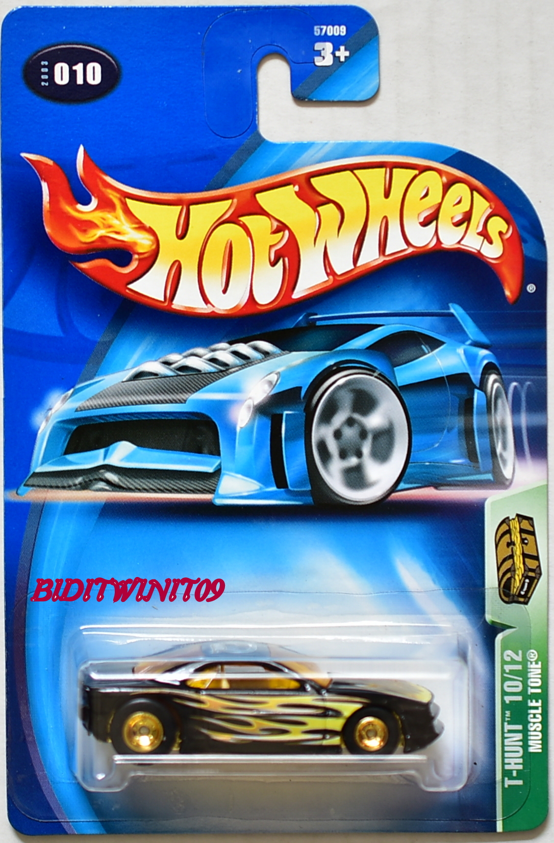 HOT WHEELS 2003 TREASURE HUNT MUSCLE TONE #010