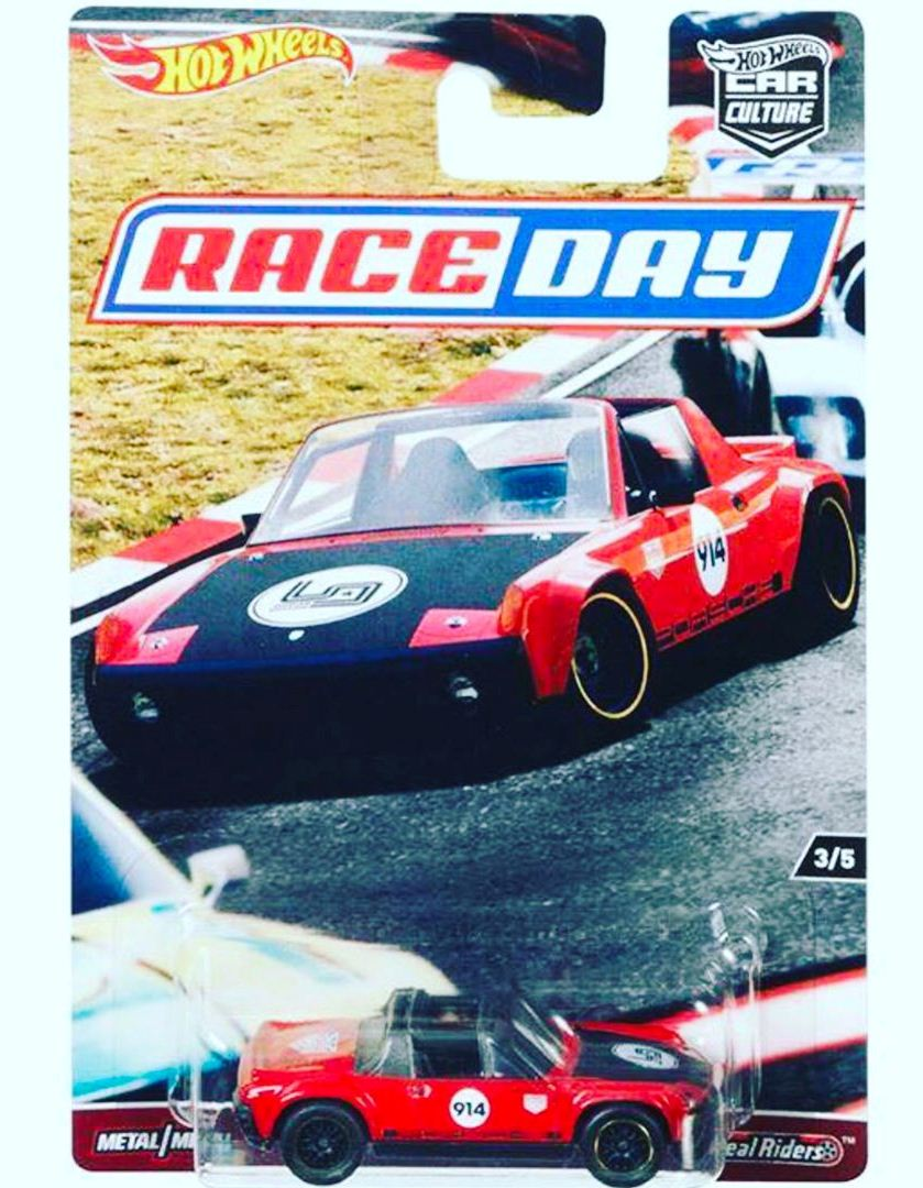 HOT WHEELS 2017 CAR CULTURE RACEDAY PORSCHE 914