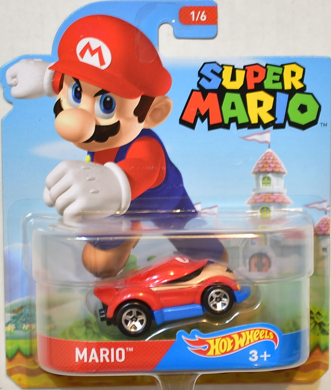 HOT WHEELS SUPER MARIO #1/6 MARIO